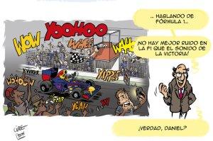 F1: Poco ruido... ¡y muchas nueces!© Cirebox