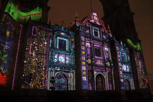 Cohete Blanco - Mosaico Poblano Catedral de Puebla
