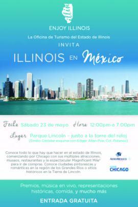 Invitacion Evento Turismo Illinois 23 Mayo