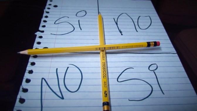 El reto Charlie Charlie, ¿por qué se mueve el lápiz?