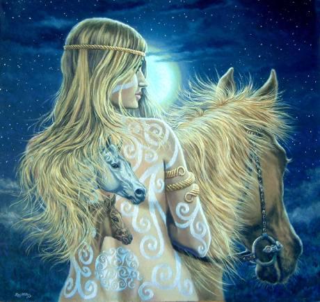 Mitología Celta: Rhiannon