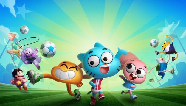 Llega Copa Toon: ¡Goleadores!, el increíble nuevo juego de Cartoon Network