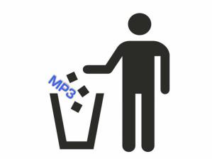 mp3 trash