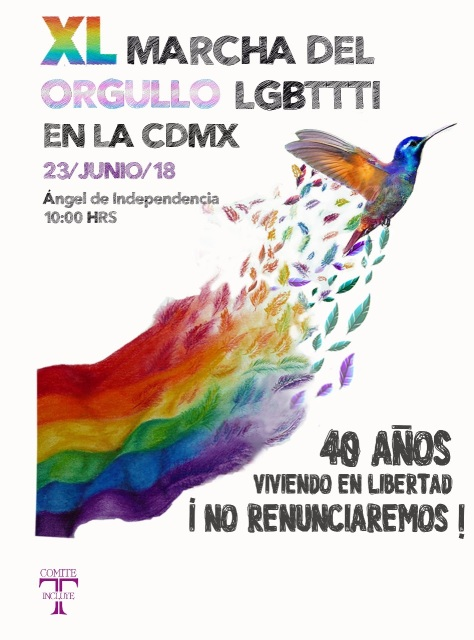 XL Marcha del Orgullo LGBTTTI CDMX